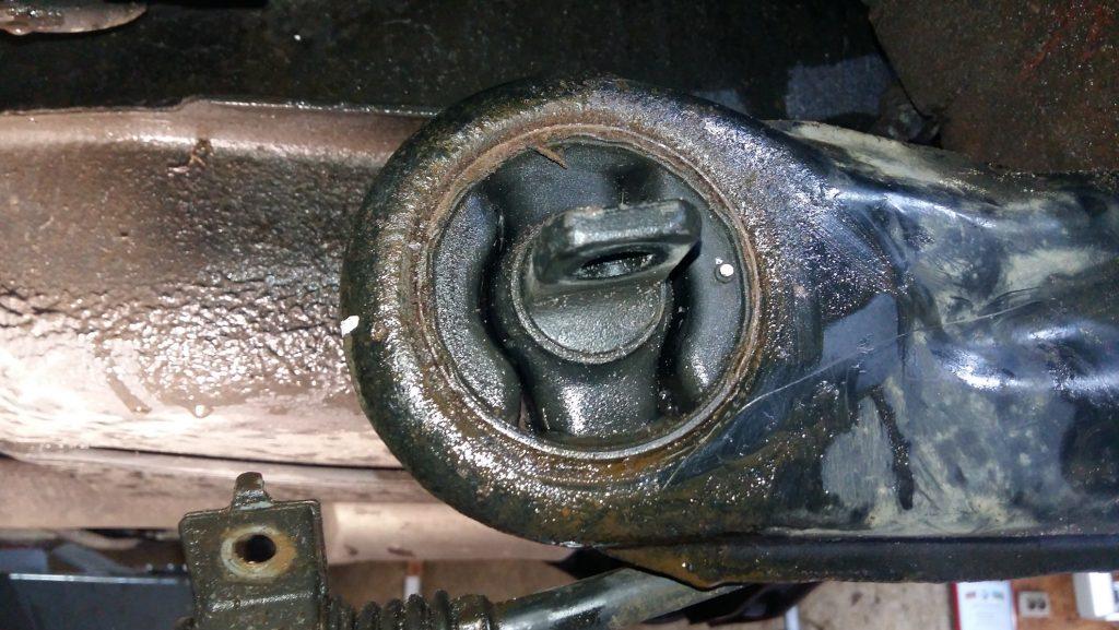 Замена сайлентблока ушастого на Mitsubishi Lancer